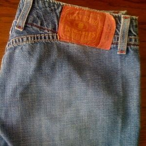 Lucky Brand flare jeans. 28x32
